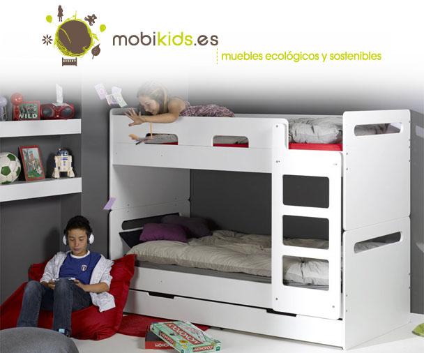 Literas para ni os la soluci n para espacios reducidos - Habitacion con literas para ninos ...