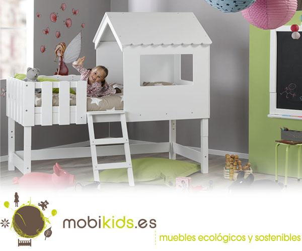 Camas en altura para el dormitorio de tus hijos for Camas en altura juveniles