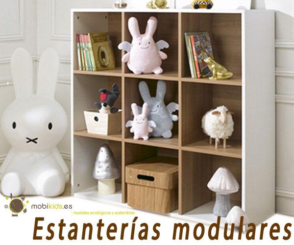 Estanter as modulares para beb y dormitorio juvenil - Estanterias para dormitorios ...