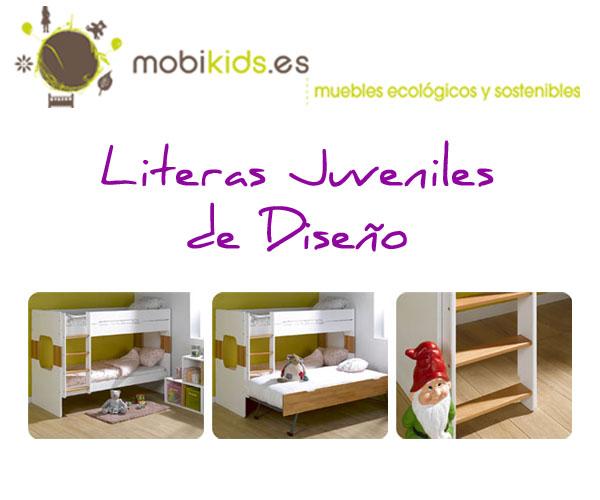 Literas juveniles de dise o literas para dormitorios - Literas de diseno ...