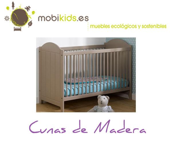Catálogo infantil elige la cuna de madera para tu bebé