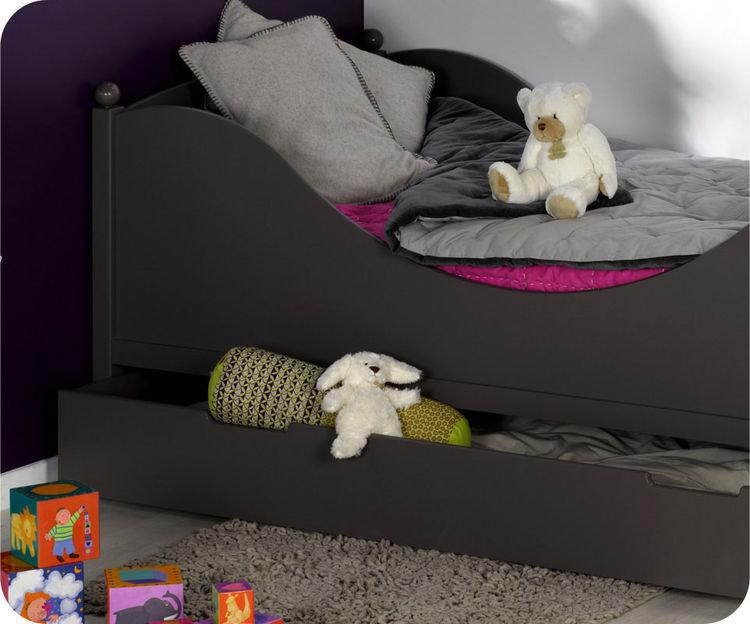 Cama infantil con somier y colch n 90x190cm en color - Somier para ninos ...
