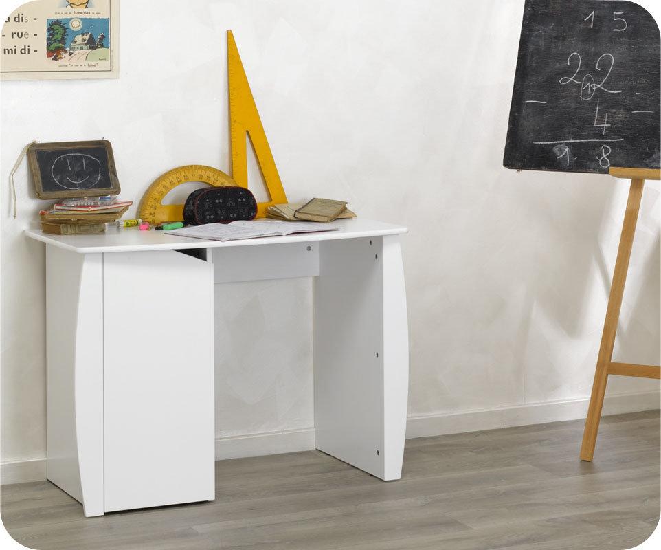 Mobikids tienda muebles dormitorios beb y habitaciones - Escritorio juvenil blanco ...