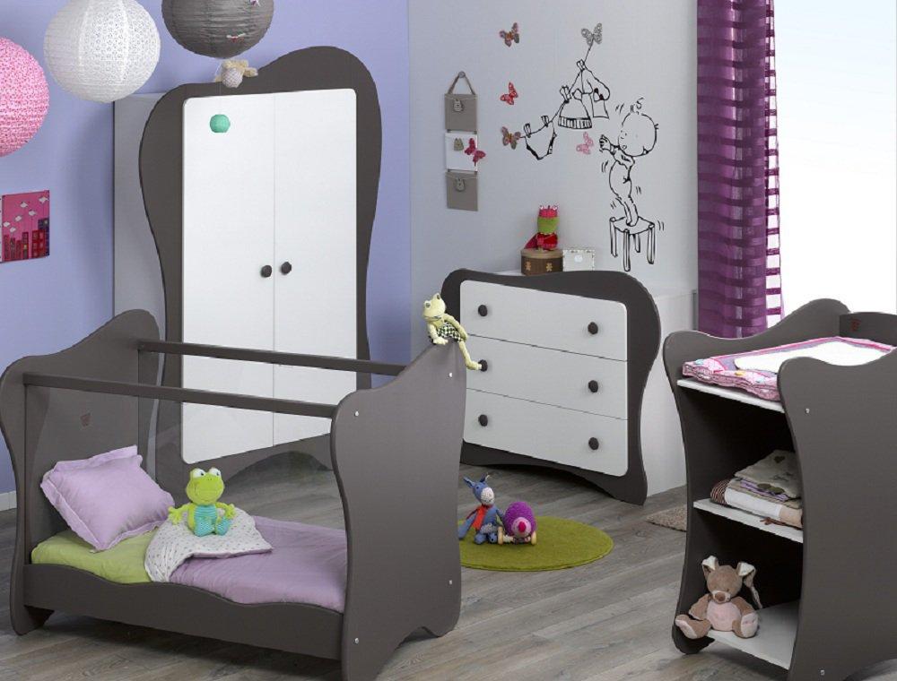 Comprar habitaci n beb completa iris chocolate - Habitacion completa bebe ...