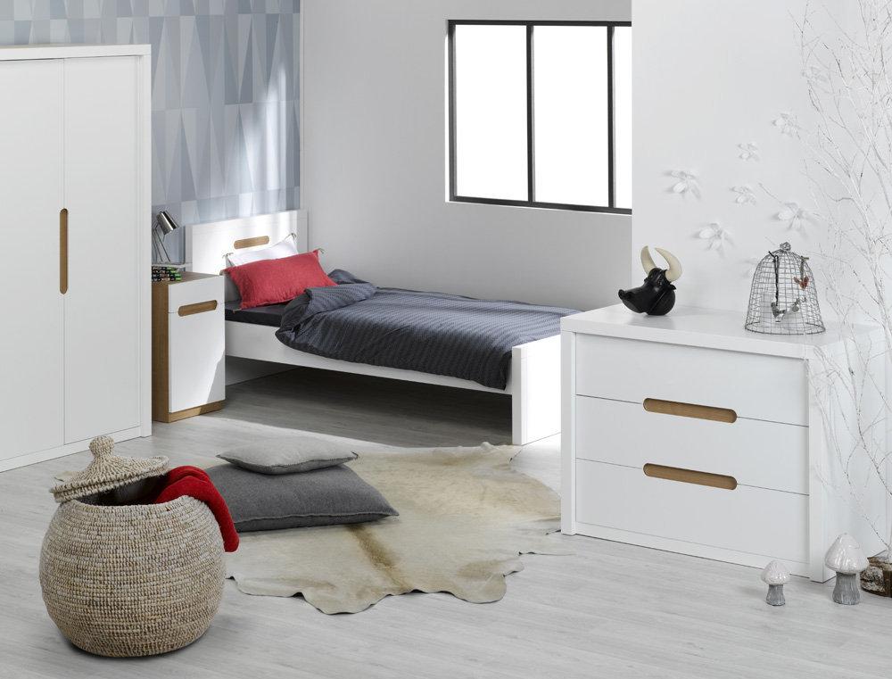 Comprar c moda juvenil milo color blanca - Habitaciones blancas juveniles ...