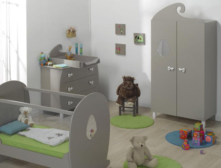 Habitaci n de beb completa lino arena cuna c moda y armario for Habitacion completa bebe boy