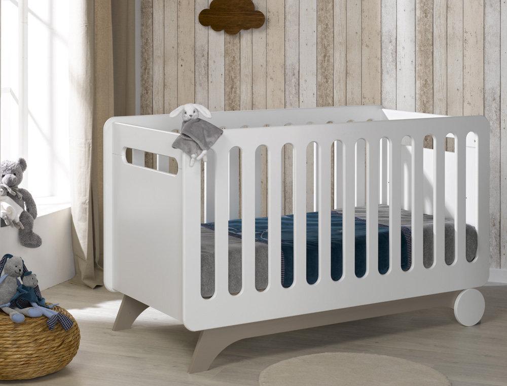 cuna para beb xcm color blancolino modelo feliz
