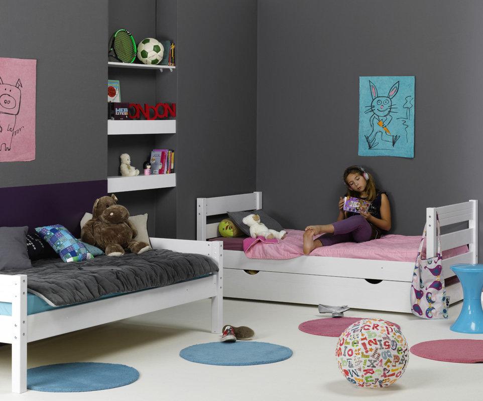 Mobikids tienda muebles dormitorios beb y habitaciones for Cama nido dos colchones