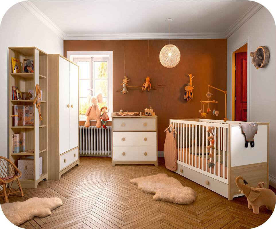 Habitaci n beb completa eol cuna c moda armario - Habitacion completa bebe ...
