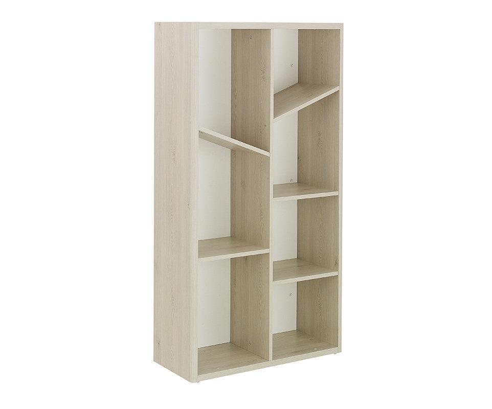 Cuna evolutiva combinada lili 70x140 blanca y madera - Biblioteca madera blanca ...