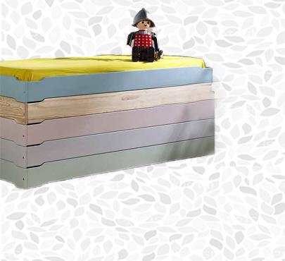 Camas infantiles y juveniles para dormitorios de ni os for Imagenes de camas infantiles