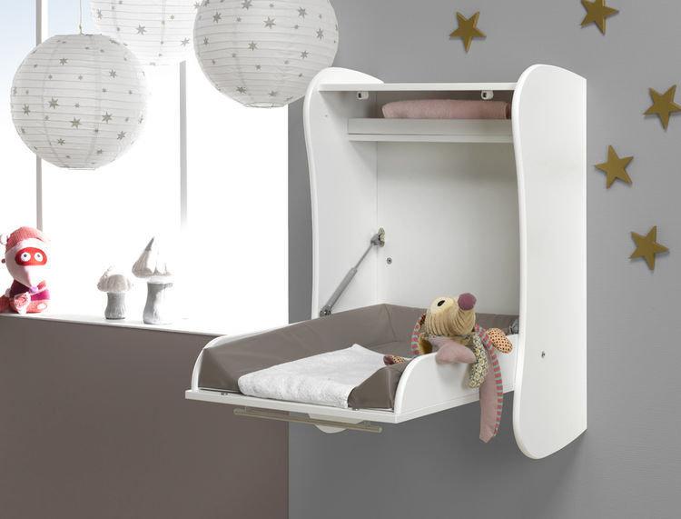 Venta cambiador de pared para beb s blanco - Cambiadores plegables para bebes ...
