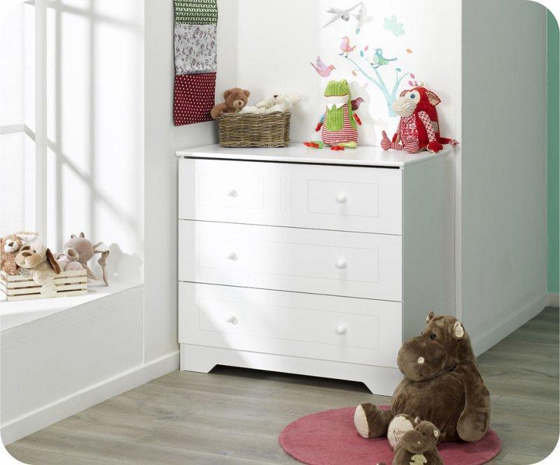 Venta c moda beb oslo blanca con 3 cajones - Comoda cambiador bebe ...