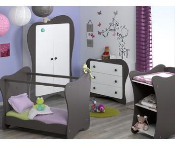 Dormitorios de bebe cuna c moda armario fabricaci n for Habitacion completa bebe boy