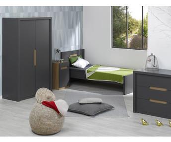 Comprar dormitorios juveniles cama mesita c moda armario - Dormitorio juvenil completo ...
