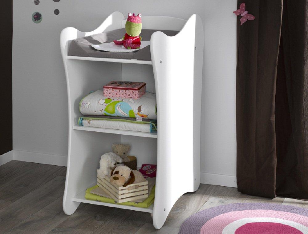 Comprar mueble cambiador iris color blanco - Muebles cambiador ...