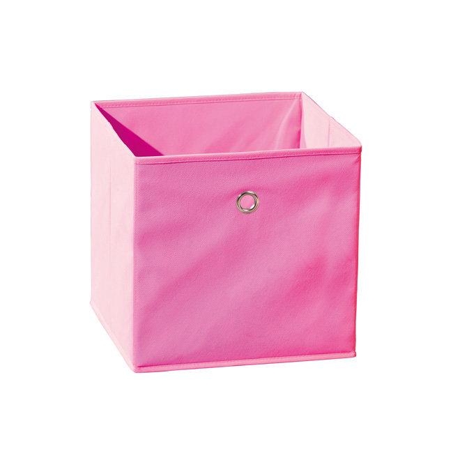 Caja de almacenaje plegable winny color rosa - Caja de almacenaje ...