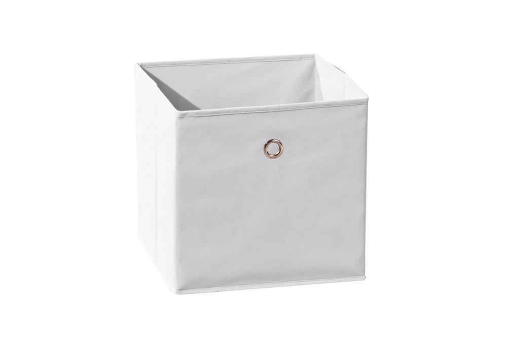 Caja de almacenaje plegable color blanco - Cajas de almacenaje ...