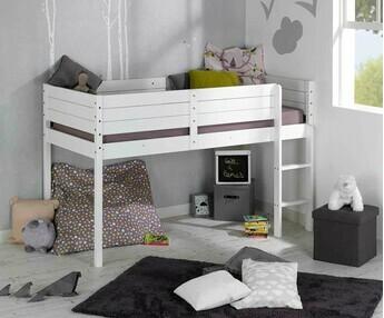 Camas media altas para dormitorios juveniles e infantiles for Camas altas juveniles