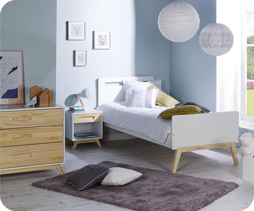 Dormitorio juvenil completo sue o blanco madera - Dormitorio juvenil completo ...