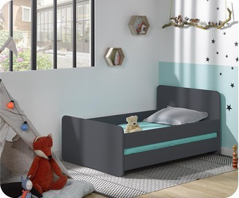 Cama evolutiva WILLOW Gris Antracita