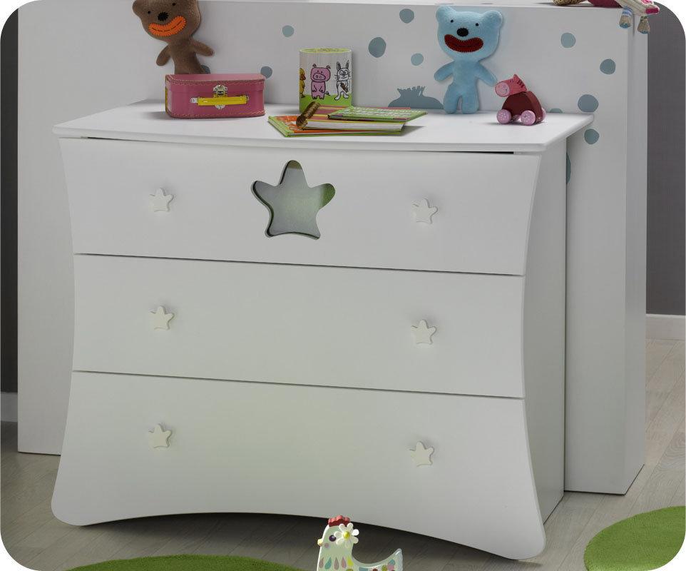 Venta c moda beb con 3 cajones blanca king - Comoda cambiador bebe ...