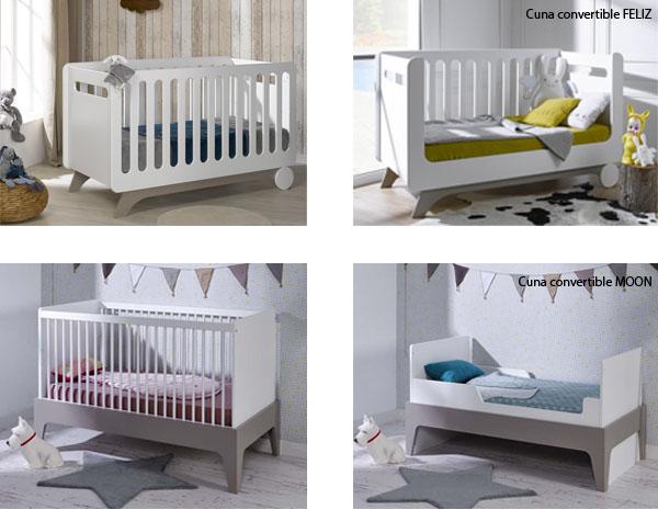 Son nuestras cama cuna cunas convertibles beb - Cuna o cuna convertible ...