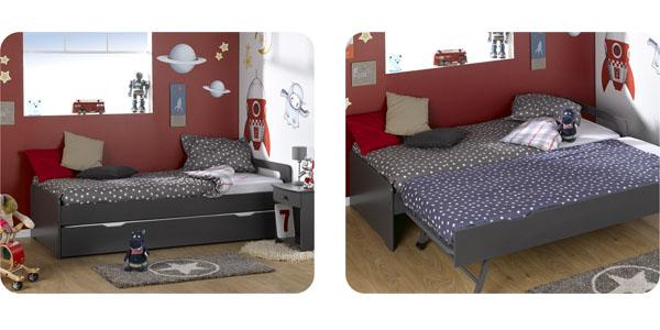 Camas dobles infantiles camas nido para tus hijos for Camas infantiles dobles