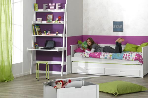 Dormitorios juveniles peque os de espacio reducido - Dormitorios juveniles pequenos ...