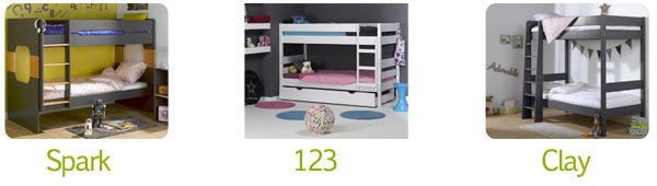 Muebles juveniles para el dormitorio de tus hijos - Literas muebles rey ...