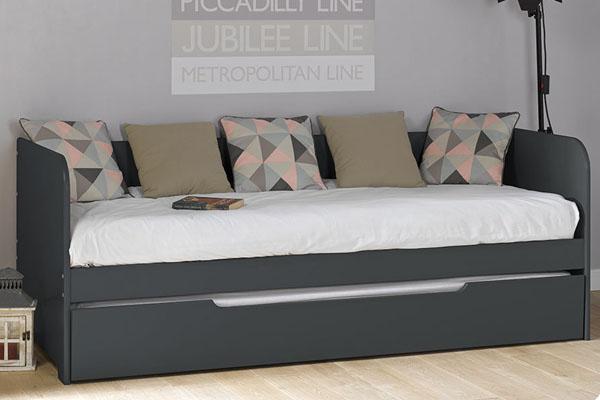 Gran variedad sof cama para dormitorios juveniles for Sofa cama color gris