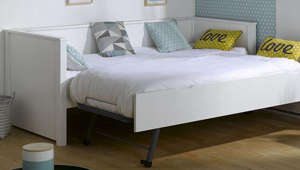 Sof cama nido juvenil para la habitaci n de tus hijos for Cama nido completa