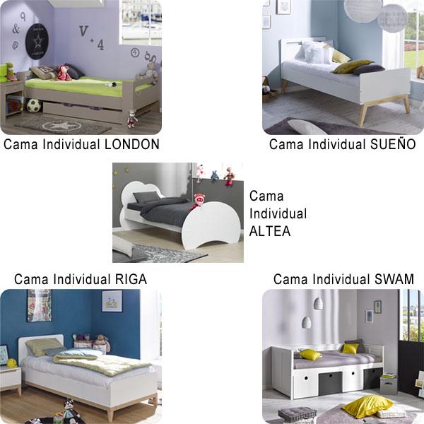 Comprar online cama individual infantil de calidad - Comprar cama individual ...
