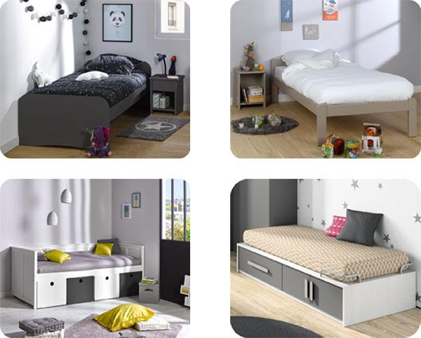 Camas individuales camas juveniles y camas infantiles for Camas con almacenaje