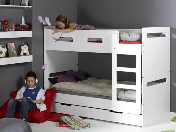 Completa el dormitorio juvenil con camas literas baratas - Literas baratas conforama ...