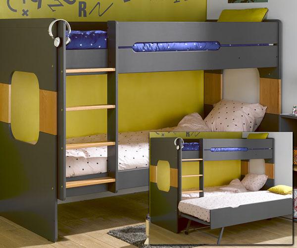 Habitaciones infantiles literas de dise o para ni os - Literas para bebes ...