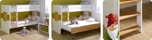 Literas juveniles de dise o literas para dormitorios - Diseno de dormitorios juveniles ...