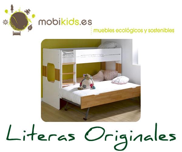Literas originales para el dormitorio de tus hijos - Literas infantiles originales ...