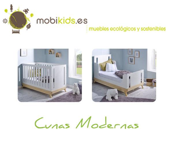 Cunas bebé con estilo, cunas modernas y ecológicas