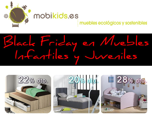 Black friday en muebles infantiles y juveniles ecobio for Muebles infantiles y juveniles