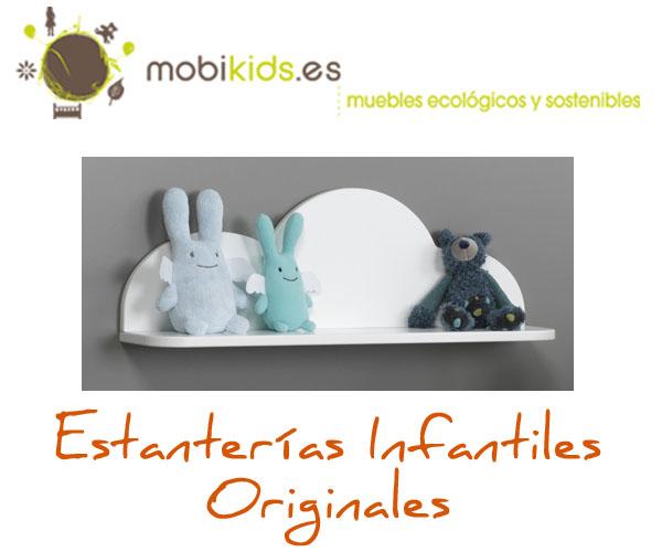 Estanter as infantiles originales espacio para tus hijos - Estanterias infantiles originales ...