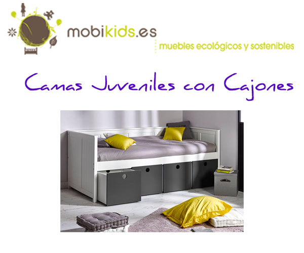 Modelos de cama compacta con cajones para tus hijos - Cama compacta con cajones ...