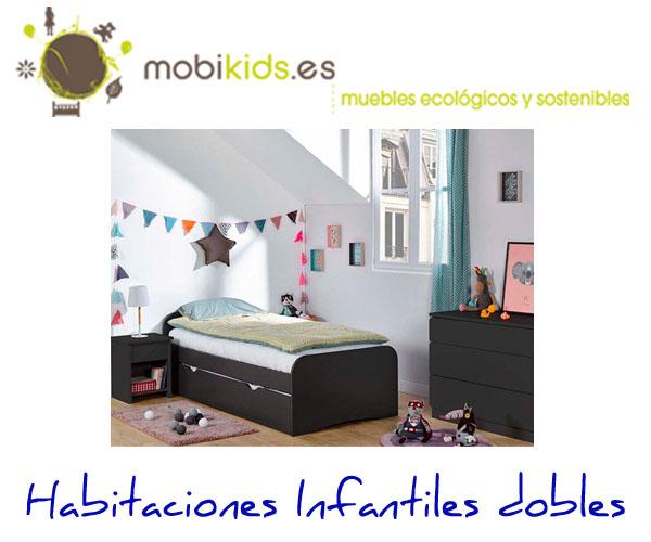 Descubre nuestras habitaciones infantiles dobles for Ofertas habitaciones infantiles