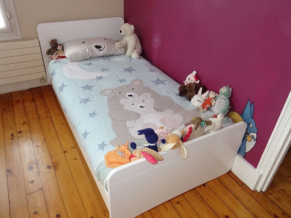 Cama juvenil Willow Blanca