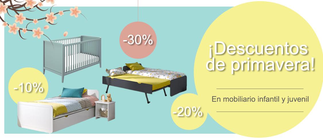 mobikids Tienda muebles dormitorios bebé habitaciones juveniles