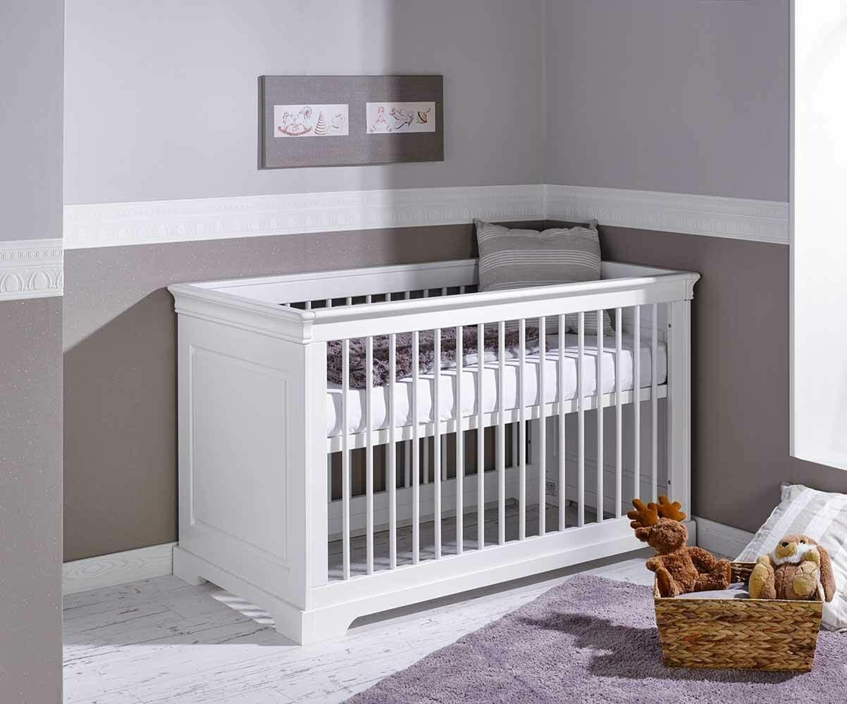 Habitación Bebé Completa MEL, Cuna, Cómoda, Armario