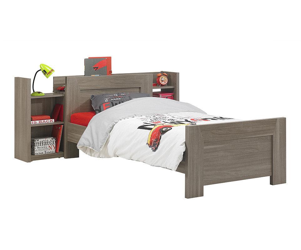 cabecero para cama juvenil auckland roble mobila. Black Bedroom Furniture Sets. Home Design Ideas