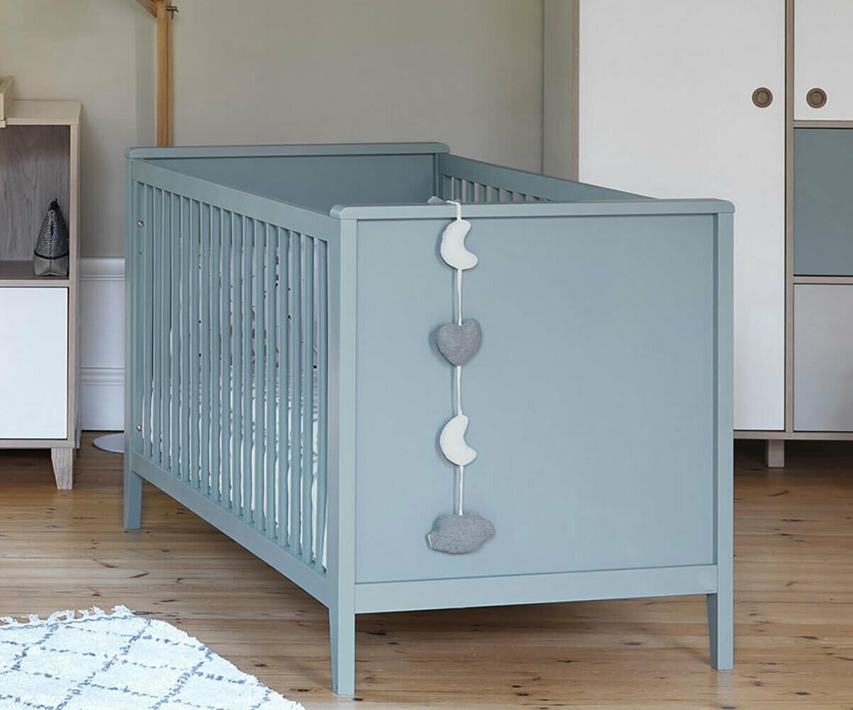 Habitaci n beb completa perla azul claro for Habitacion completa bebe boy