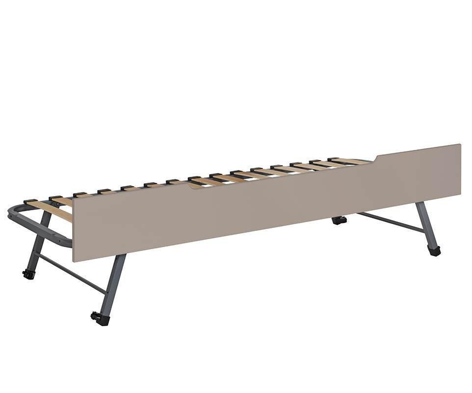 Cama Nido Supletoria 90x200 cm Frontal Madera Maciza Lino Sleep\'In