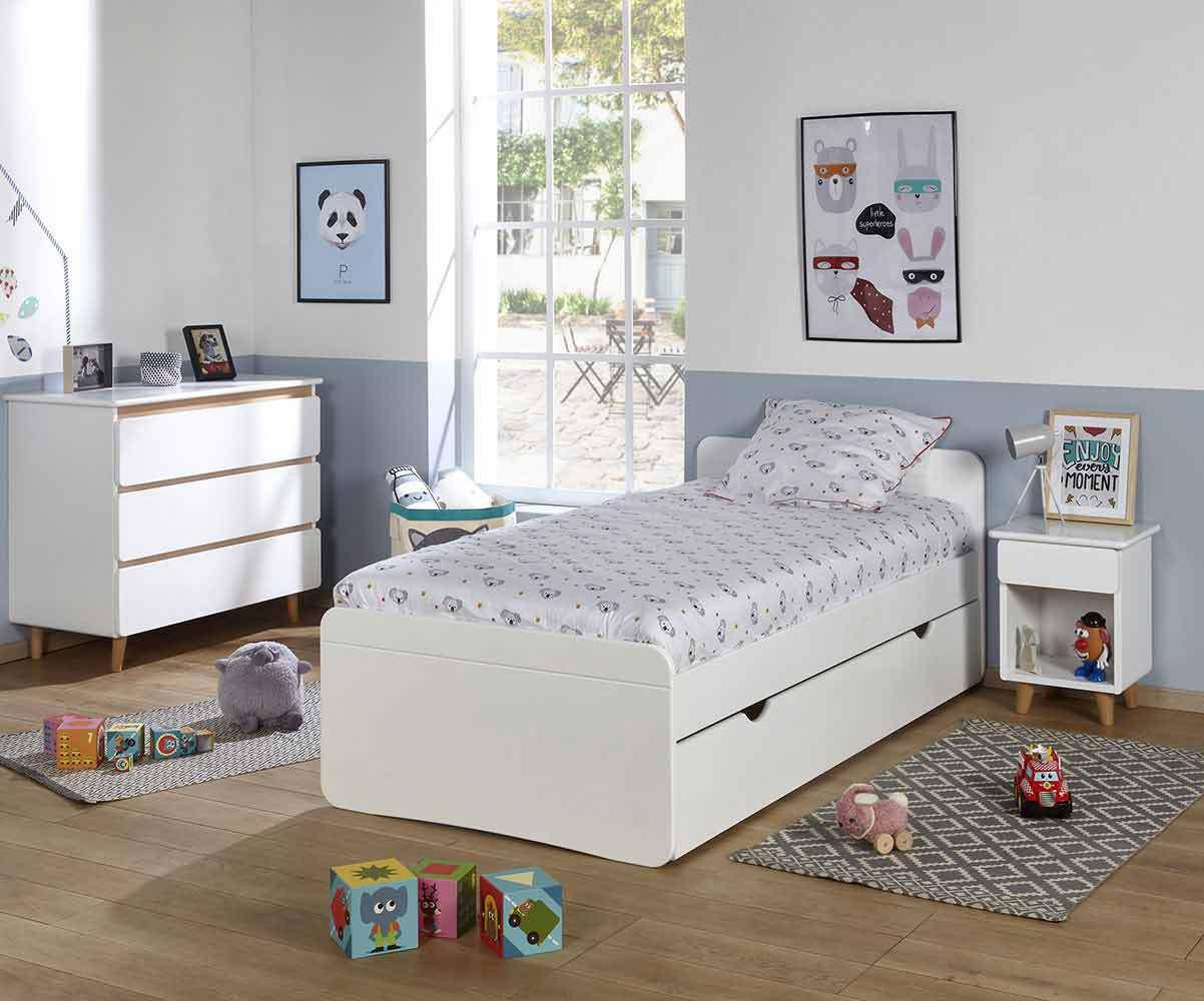 Dormitorio juvenil Blanco Willow